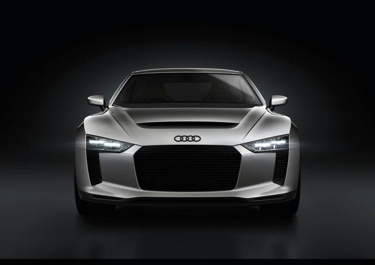 Audi quattro concept efficient LED headlights. 680755815