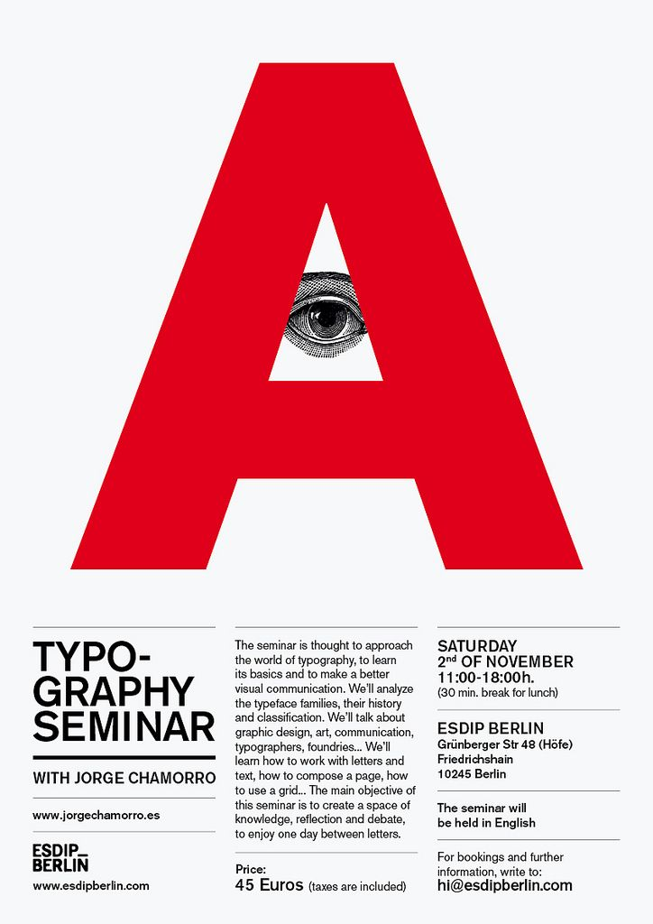 poster, type, helvetica, layout