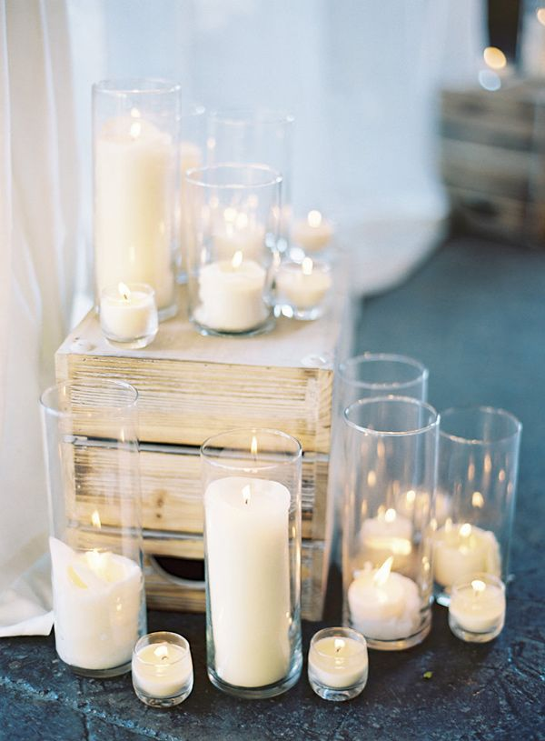 all white ceremony idea | odalys mendez photography | image via: ruffled blog