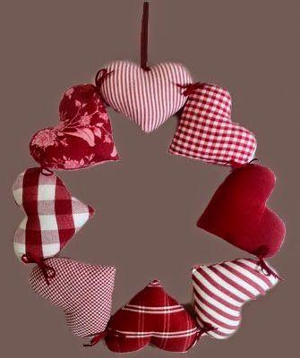 M s de 25 ideas nicas sobre adornos navide os para - Adornos navidad tela ...