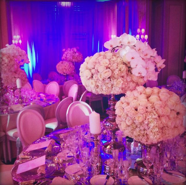 Peony Inspired Wedding Ideas: 221 Best Images About Peony And Hydrangea Centerpieces On