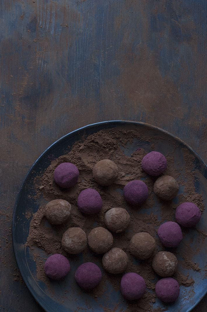 A Lover's Choice, Two Recipes For Romance: Chocolate Hibiscus Truffles