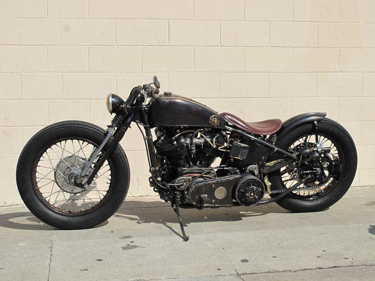 Harley Davidson Knuckle Head By Garage Company        ♠ http://hellkustom.blogspot.com/ ♠