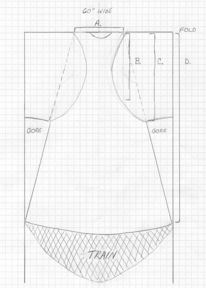 The Sideless Surcote By Lady Jehanne de Wodeford