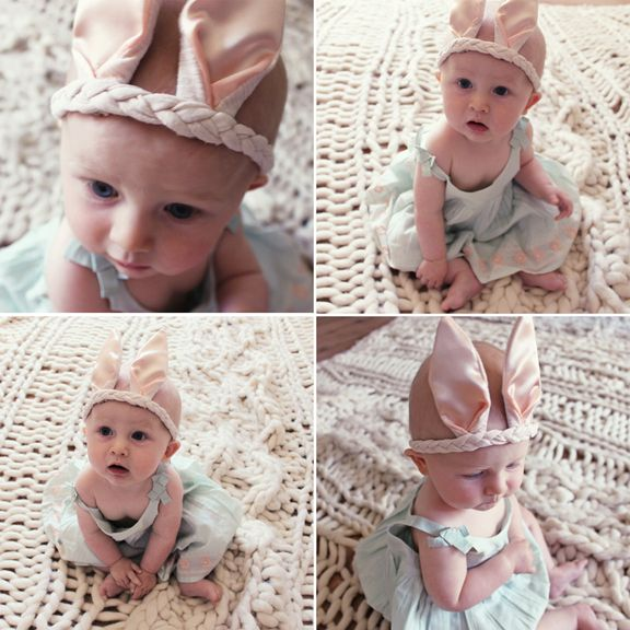 Easter bunny!: Babies, Work Pretty, Instructions, Baby Bunnies, Pretty Easily