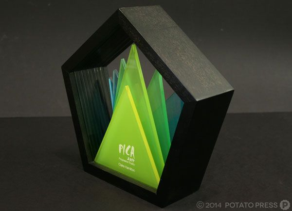 pica-awards-in-progressive-angle-frontal-wood-pica-potatopress-australia-brisbane-goldcoast-international-australiawide-custom-trophy-joinery-timber-acrylic-custom