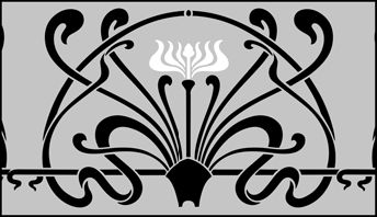 Art Nouveau stencils from The Stencil Library. Buy from our range of Art Nouveau stencils online. Page 4 of our Art Nouveau border stencil catalogue.