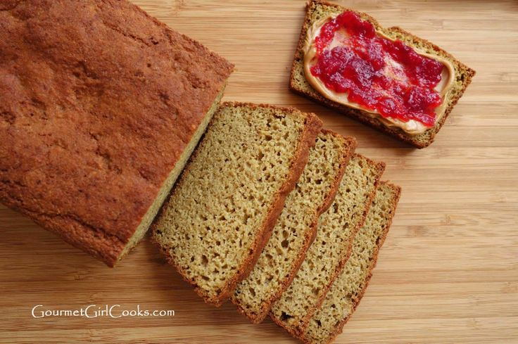 Gourmet Girl Cooks: Awesome Grain-Free Bread - Low Carb & Wheat Free