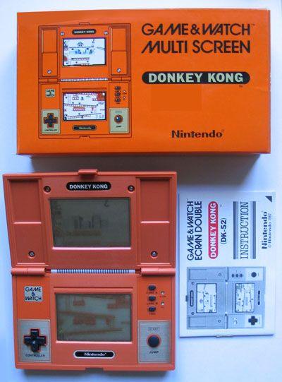 Nintendo - Game & Watch - Donkey Kong (1982)