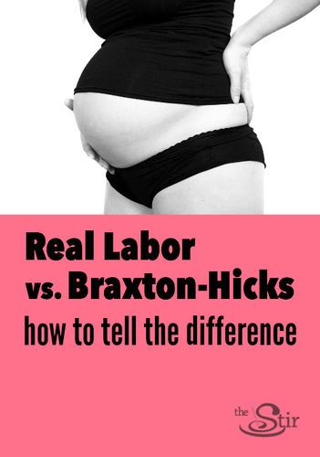 Good to know! How to tell the difference between real labor and Braxton-Hicks contractions. Repin for your reference. http://thestir.cafemom.com/pregnancy/174331/signs_of_labor_real_contractions