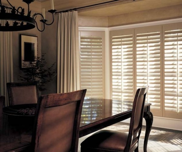 Best of Timeless beauty enduring craftsmanship an exquisite dining room––Heritance hardwood shutters ♢ Hunter Douglas window treatments Beautiful - Best of types of blinds and shades Modern