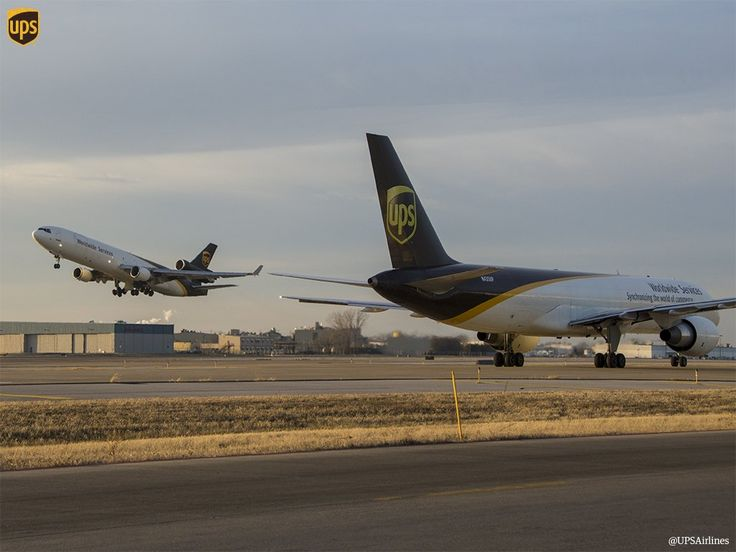 UPS cargo planes / freighters