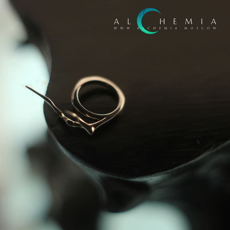 The Branch ring. Silver. Handmade by Alchemia Jewellery.