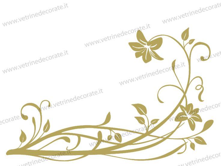 fiori stile liberty decori - Cerca con Google