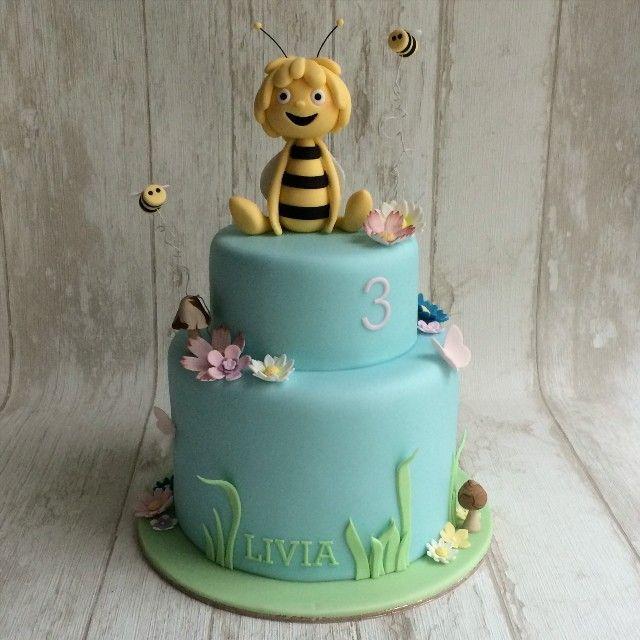 Tiny Sarah's Cakes for Sugarplum Cake Shop - Gâteau Maya l'abeille - Maya the bee cake - sugar - figurines