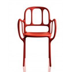sedia milà rosso di magis