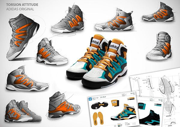 footwear sketch on Behance