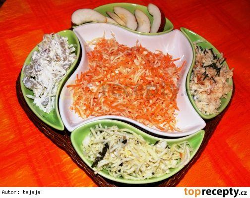 Kedlubnový salát - na 4 způsoby