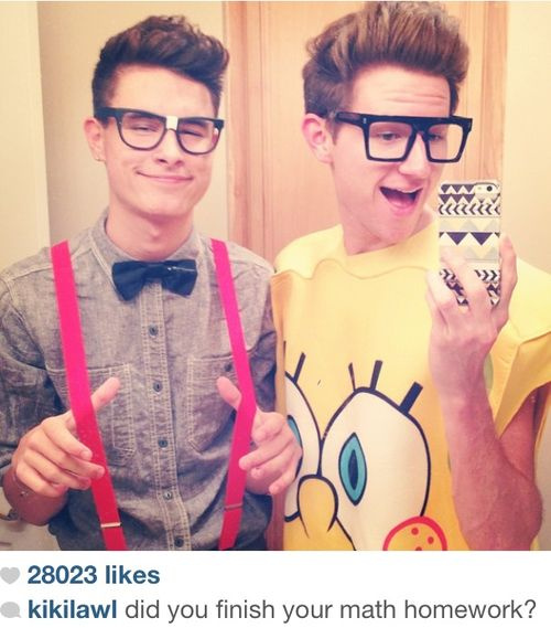 Ricky and Kian Halloween