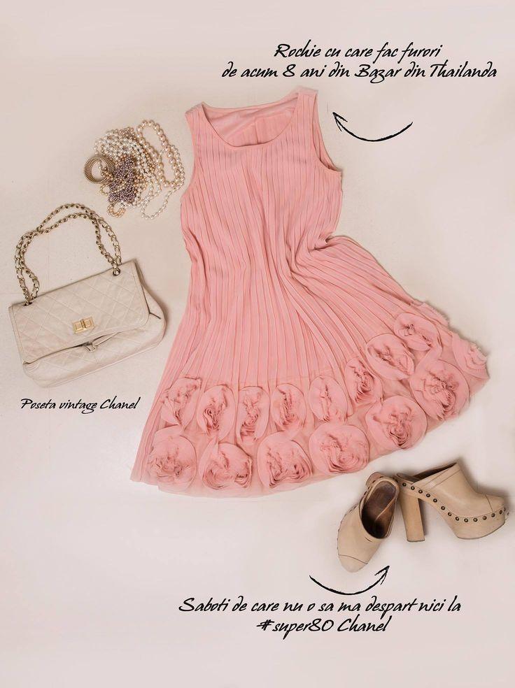 Dress from 8 year ago in Thailand.  #Chanel #Bag #ChanelShoes #Fashion #Vintage #Love #IleanaBadiu #MyWardrobe #Super40