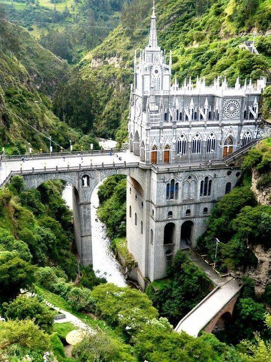 Las Lajas Sanctuary, Colombia.