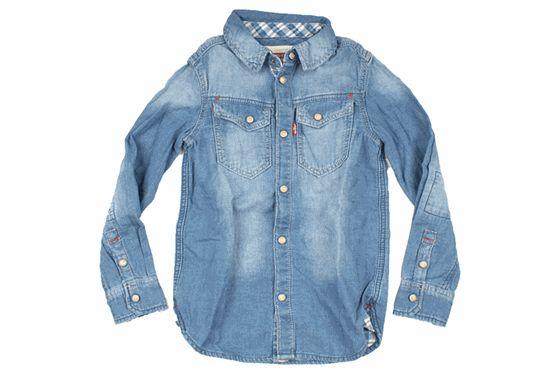Levis denim shirt indigo 12067