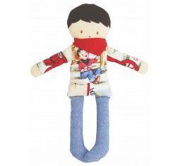 Alimrose Cowboy Doll Rattle