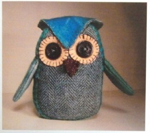 Image result for wool owl pincushion kit