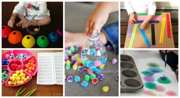 fine motor activities for kids altered bottles