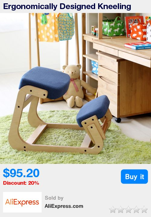 Ergonomically Designed Kneeling Chair Wood Modern Office Furniture Computer Chair Ergonomic Posture Knee Chair For Kids Study  * Pub Date: 06:44 Apr 11 2017