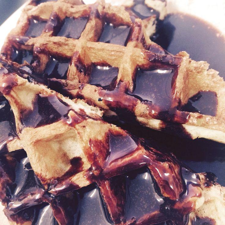 Choc waffles