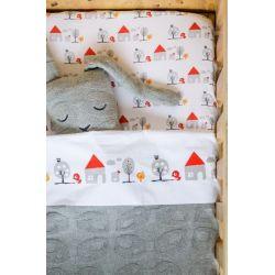 Vrolijke, frisse, uniseks, en super makkelijk combineerbare dekens en lakens. Geïnspireerd door de eenvoud van Scandinavische en Japanse prints.