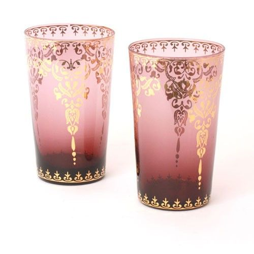 Moroccan Tea Glass - Purple, Set of 2 in Teaware Cups & Mugs at ...500 x 500 | 37KB | mightyleaf.com