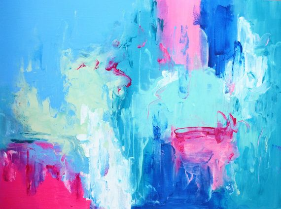 The Cool Abstract Painting