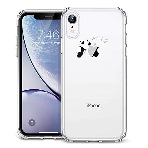 coque iphone xr motif pomme