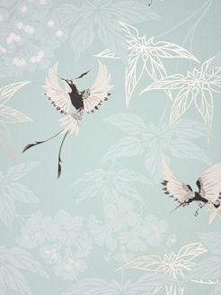 Grove Garden - W5603-03 - Wallpaper Album 5 - Osborne & Little - Tapeter-tyger.se