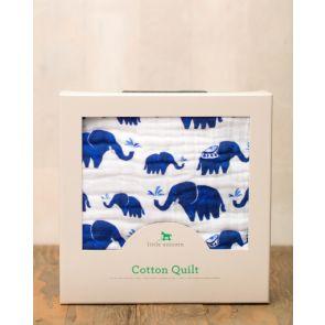 Little Unicorn Cotton Muslin Quilt - Indie Elephant