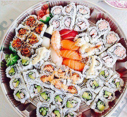 Суши много не бывает