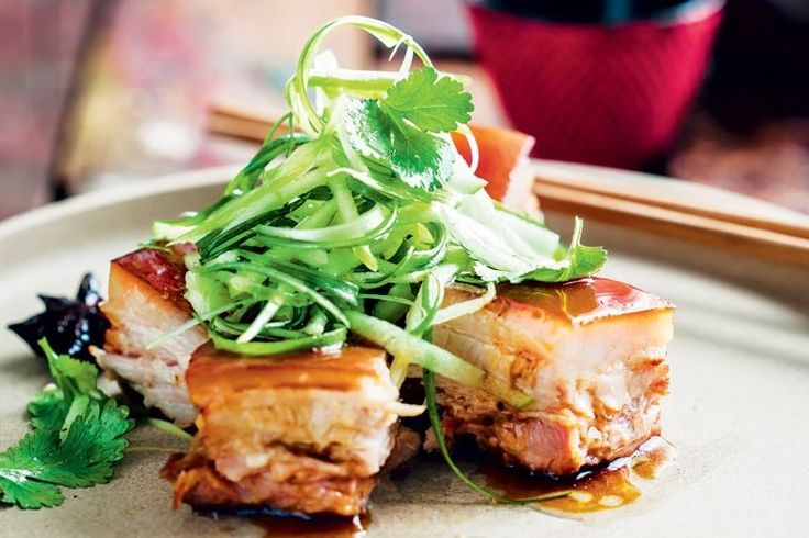 Sydney's love affair with dumplings and modern Cantonese fare continues to grow with a little matchmaking help from Mr Wong. This red-braised pork belly with apple will leave you swooning.