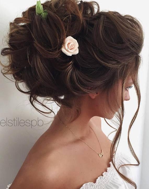 Elstile wedding hairstyles for long hair 17 - Deer Pearl Flowers / www.deerpearl...