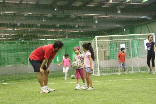 Can't take the #heat? United Pro #Sports is one of the first #indoor multi-sport academies in #Dubai that has a state of the art sports #academy and one of the first multi-sport training centers in Dubai.   We have #elite #trainers who are ready and eager to teach your #children the skills they need to excel at #sports #professionally  #UnitedProSports #dubai