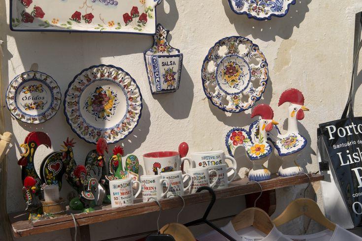 Day 188 Barcelos Rooster ceramics Obidos 365views2019