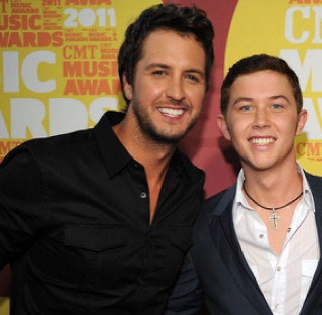 Scotty McCreery and Luke Bryan mmmhhmmmm