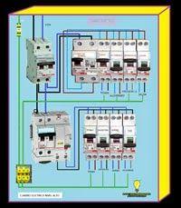 Esquemas eléctricos: Cuadro electrico nivel alto vivienda