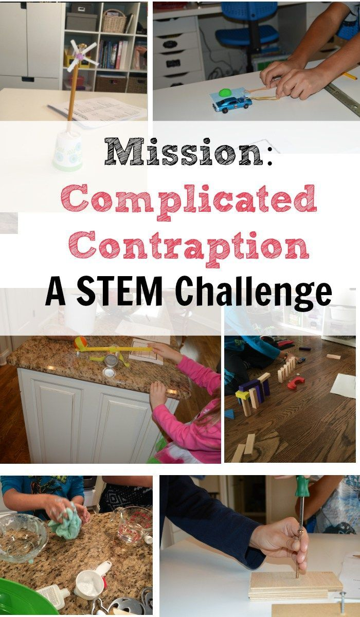 Simple machines project ideas - Stem Challenge Simple Machines Project Ideas For Kids