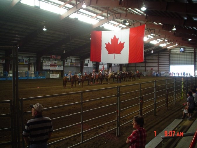 Different kinds of horse shows often take place in Heritage Park. #horseshow