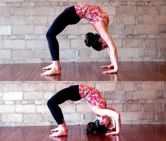 Headstand Preparation Backbend Push-Ups: Heres another ...