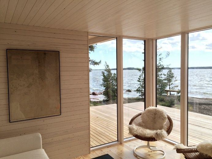 Moderni sauna Sunhouse 5