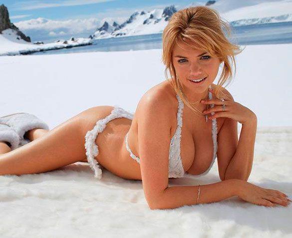 4. Kate Upton: la modelo y actriz estadounidense escala cada años puestos en los rankings de las más deseadas.