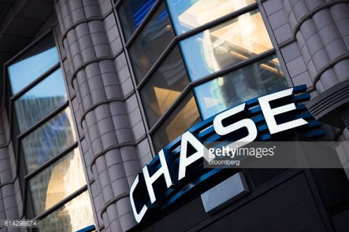 Signage is displayed outside a JPMorgan Chase & Co. bank... #kentsbank: Signage is displayed outside a JPMorgan Chase & Co.… #kentsbank